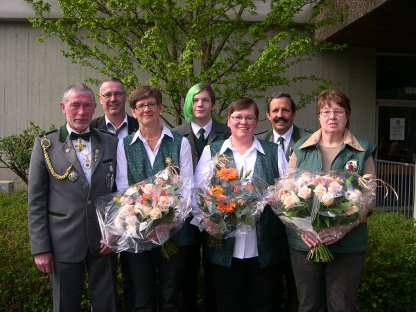 Sieger des Vogelschießens 2008