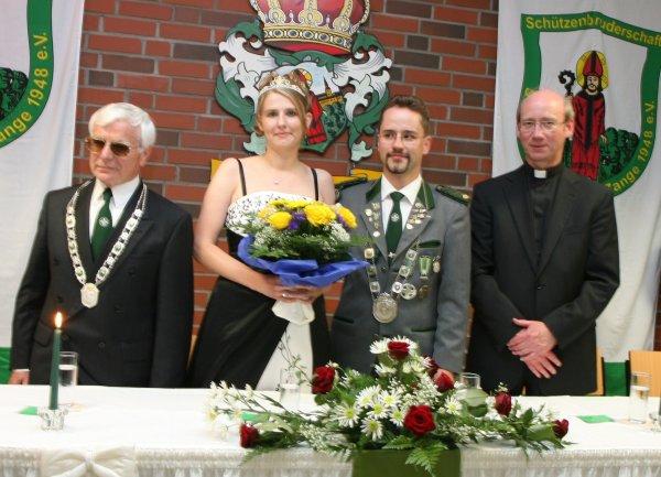Schützenball 2010 (Königin und Könige)
